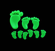 Romantic House Absorptiometric Night Lights Stickers-Feet