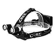 KUTOOK Q5 Cree 360 Lumens 6061 Al Alloy Bright Bicycle Headlamp - Two Lamps