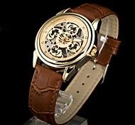 2014 neue Art und Weisefrauenrhinestone-mechanische Armbanduhr