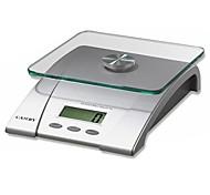 Escala digital de la cocina pantalla lcd 5kg/11lb equipado con plataforma de cristal templado