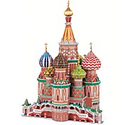 Deluxe Edition Super Big St Basil's Cathedral Building Model 3D Puzzle Educational Toys 60cm Jigsaw Puzzles(231pcs)