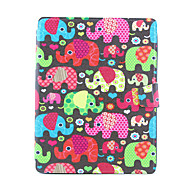 Elephant Design 360 Degree Rotating PU Leather Full Body Case with Stand for iPad 2/3/4