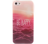 Be Happy Design Soft Case for iPhone 5/5S
