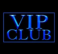 VIP Club Advertising LED Light Sign