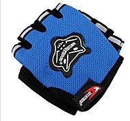 Glove Cycling / Bike All / Men's Fingerless Gloves Summer / Autumn Blue Others - Others