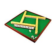 General Luxury Crystal Mini Portable Mahjong Tiles(Pink,Gold)