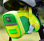 INBIKE Yellow&Green Fluorescence PU MTB Hard Shell Saddle Bag
