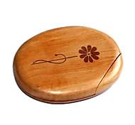 1pcs Holz comestic Spiegel