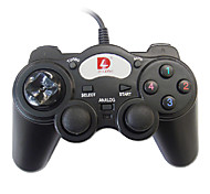 Dilong PU301 USB Dual Shock Wired Controller for PC