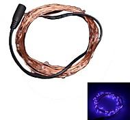 xinyuanyang® 3w 50x0603 SMD 250lm púrpura tira de la decoración llevó la luz (DC 12V / 5m)