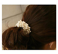 High Quality Pearl Hair Ties Hair Circle