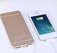 Batería externa portátil 12000mAh para el iphone 6/6 más / 5 / 5s / samsung s4 / s5 / Nota 2 (colores surtidos)