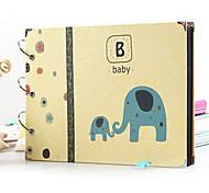 artesanato casal e bebê album27.5 foto doente * 3 * 20cm