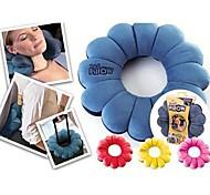 1 pcs Velvet Travel Pillow,Floral Others