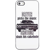 Unique Driver Design Aluminium Hard Case for iPhone 4/4S