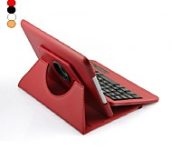 Premium Litchi Grain PU Leather Case for iPad mini 3 iPad mini 2 iPad mini w/ Bluetooth Keyboard (Assorted Colors)