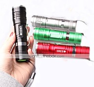 Lights LED Flashlights/Torch / Handheld Flashlights/Torch / Clips and Mounts LED 1000 Lumens 3 Mode Cree XM-L T6 18650Adjustable Focus /