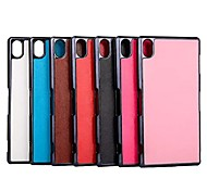 Ultrathin Crazy Horse Grain Leather TPU Hard Case for Sony Xperia Z3 (Assorted Colors)