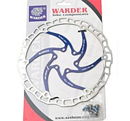 WARDER 180MM Six Holes Stainless Steel Bicycle Brake Disc