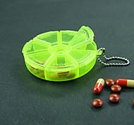 cor aleatória kit rotativo cilíndrico portátil pequena abertura