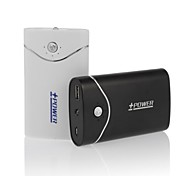 Shaddock 6600mAh Power Bank External Battery for iPhone5/5S GalaxyS2/S3/S4/S5 BlackBerry HTC, LG and most Cellphones