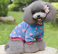 bunte dot design Kleidung für Hunde Haustiere (verschiedene Größen, Farben)