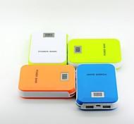 12000mah lcd portátil banco alimentación de la pantalla para el teléfono móvil (5v 1a y 5v 1a salidas dobles, colores opcionales)
