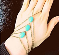 Women's  Fashion Personality Natural Turquoise Bracelets