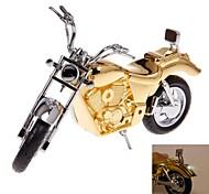creativas de oro encendedores modelo de motocicleta para la colección o decoración de juguetes clásicos