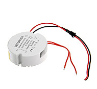 0.3A 15-18W DC 40-70V to AC 85-265V Circular External Constant Current Power Supply Driver for LED Ceiling Lamp