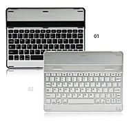 alumínio Bluetooth 3.0 teclado para iPad 2 iPad 3 e iPad 4 (branco e preto)