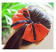 New Product Super Big Bowknot Fabric Hair Pins