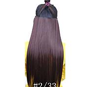 Clipes venda quente Cor escuro colorido Broen Bar atacado da menina do cabelo de extensão