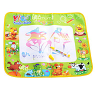 58*48*1.5cm Kids Water Drawing Mat Board Educational Novelty Toys(Small Size)