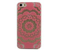 Pink Lace Flower Design Hard Case for iPhone 5/5S