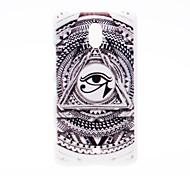 Kinston the Eye of Sun God Pattern Plastic Hard Case for Nokia Lumia 1320