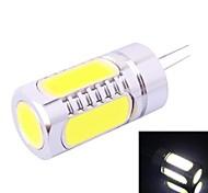 g4-6d 7.5W 350lm 7000k branco lâmpada LED (DC 12V)