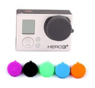 Professional 5 PCS Protective Silicone Lens Cover Cap Set for GoPro Hero 3 / 3+