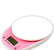 lcd digital de 5kg balanza electrónica / 1g color al azar, 20x16x1.3cm plástico