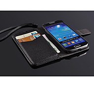 Fashion® Super Thin Flip pu Leather for Samsung S4mini i9190,Samsung S4mini  Leather Case