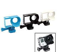 Protective Frame Lens Hood w/ Screws + Mount  for GOPRO HERO   3/3+