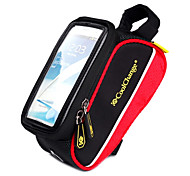 Bike Frame Bag / Cell Phone Bag Cycling/Bike For Quick Dry / Rain-Proof / Dust Proof / Shockproof / Wearable / Touch Screen , Red ,600D