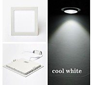 3 W 15 SMD 2835 300 LM Cool White Recessed Retrofit Ceiling Lights / Panel Lights AC 85-265 V