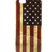The United States Flag Pattern TPU Soft Case for iPhone 6/6S