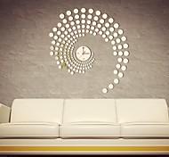 """Ai® 20"""" Modern Fashion Simple Mirror Wall Clock"""