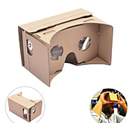neje google cartón bricolaje realidad virtual tookit gafas 3d vr para iphone android móvil 4-7 pulgadas