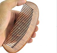 Natual 12x5.5cm Red Sandalwood Wooden Comb