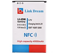 Link Dream   Cell Phone  Battery with NFC for  Samsung Galaxy Note3 /N9000 /N9005    (4500mAh)