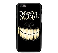 Elonbo Smiling Face Plastic Hard Back Cover for iPhone 6