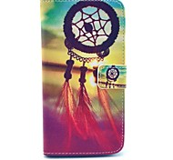Dream Catcher Pattern PU Leather Cover Case With Card Holder for Samsung Galaxy Grand 2 G7106